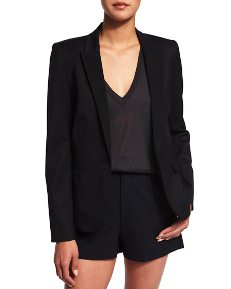 Zadig & Voltaire Victor Knit Deluxe Jacket