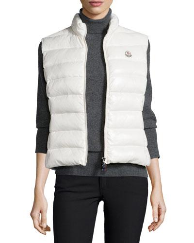 Ghany Zip Puffer Vest