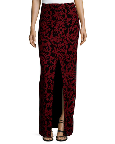 Leena Embroidered Maxi Skirt