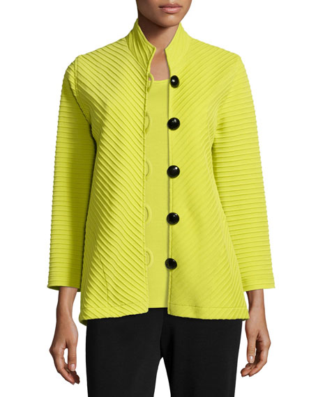 Caroline RoseWool Ottoman Easy Jacket