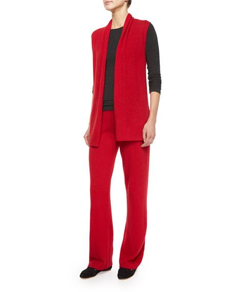 Neiman Marcus Cashmere Collection Cashmere Vest & Pant