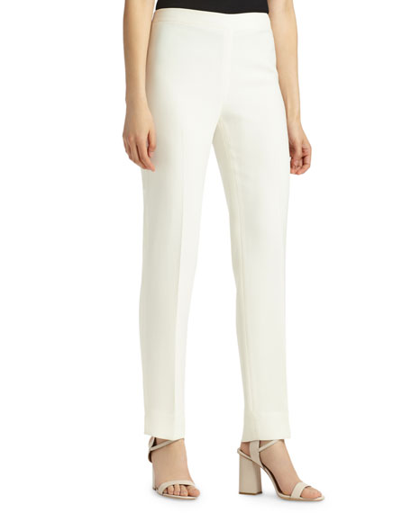 Lafayette 148 New York Finese Bleecker Straight-Leg Pants,