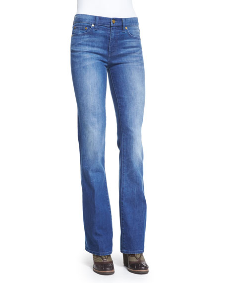 Tory Burch FLARE HIGH WAIST JEAN
