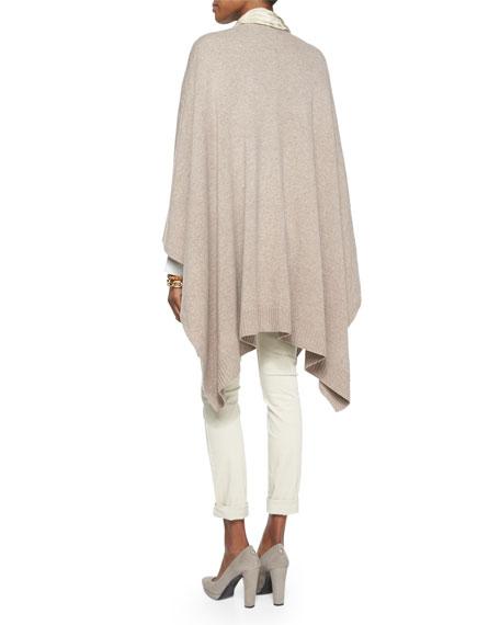 Cozy Luxe Wool Poncho Cardigan, Petite