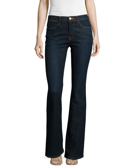 FRAME DENIM Le High Flare Jeans, Sutherland