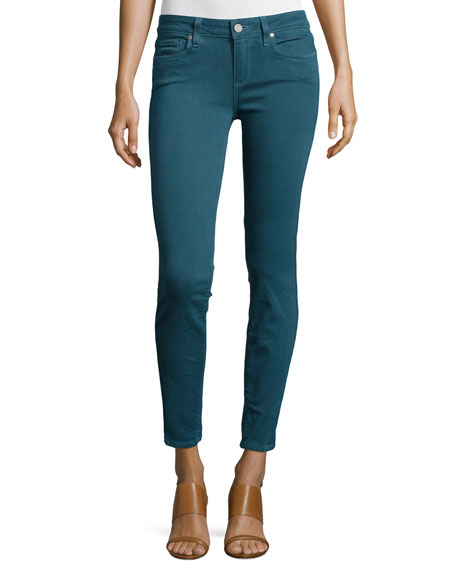 Paige Denim Verdugo Ultra Skinny Jeans, Faded Pine