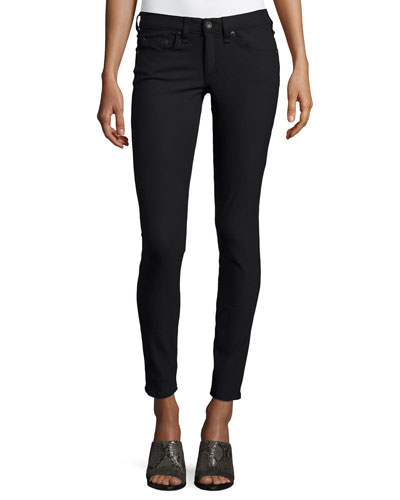 Low-Rise Skinny Jeans, Equestrian
