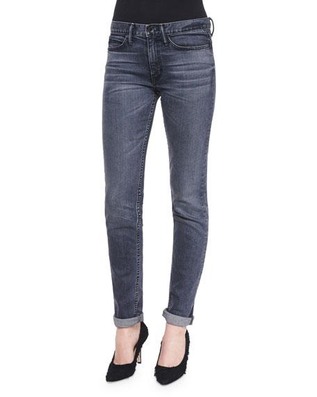Helmut Lang Straight Slim Whiskered Jeans