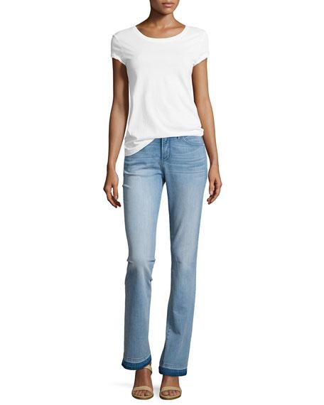 Faded Billie Boot-Cut Jeans, Manhattan Beach