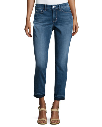 Clarissa Faded Ankle Jeans, Heyburn Wash