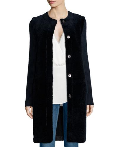Loriely Deauville Lamb-Fur Coat
