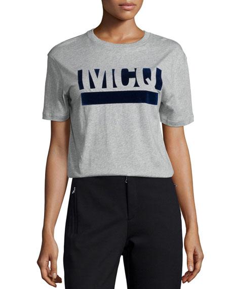 Classic Logo T-Shirt, Gray Melange
