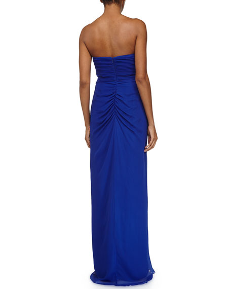 Silk Sweetheart Gown, Neptune