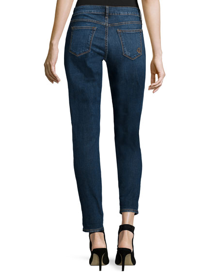 Glory Slim Boyfriend Jeans, Tex