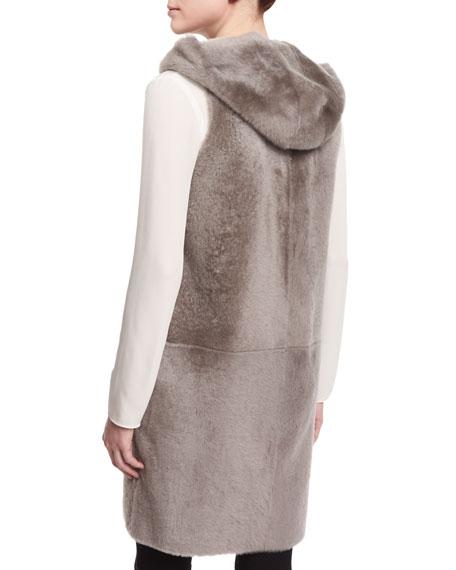 Malriz Ryder Shearling Fur Vest