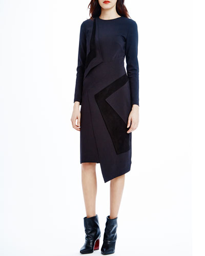 Lark Paneled Asymmetric Dress