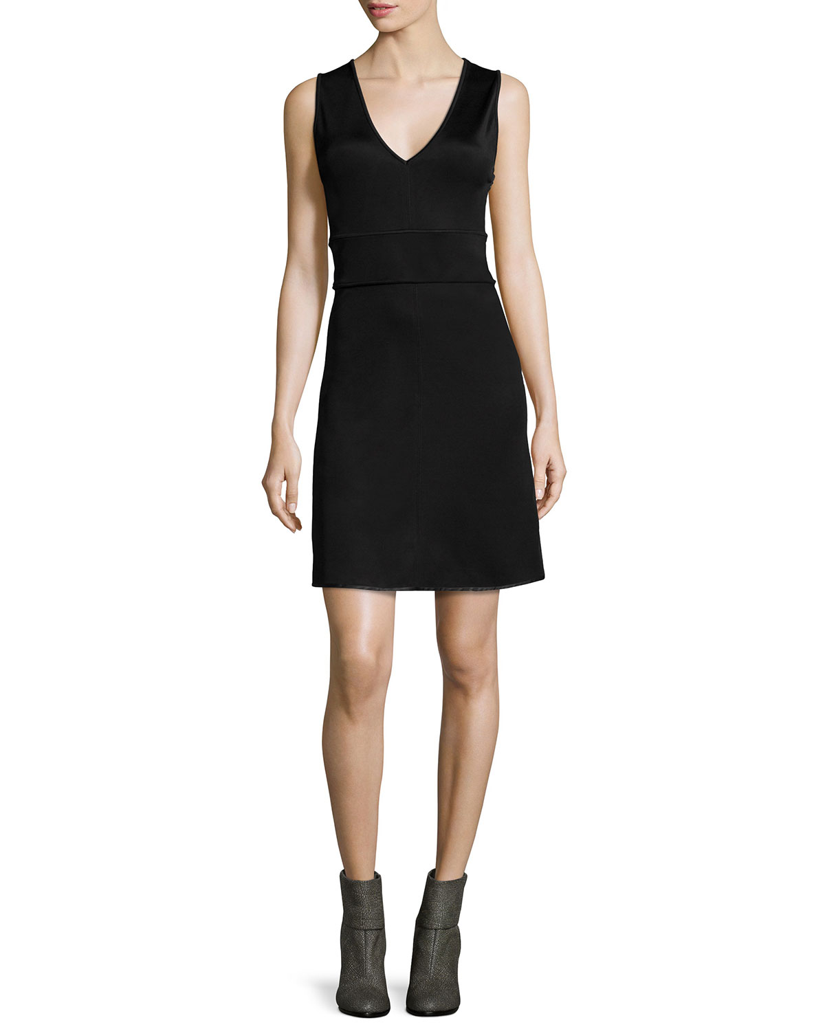 Dress A Back Black amp; Neiman Open Line Astrid Rag Bone Marcus 4ngw10x1q