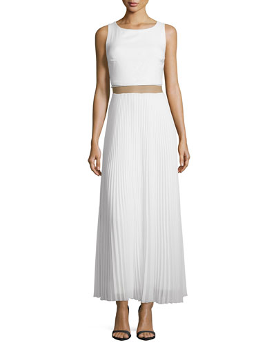 Waltz-With-A-Swing Dress, Cream