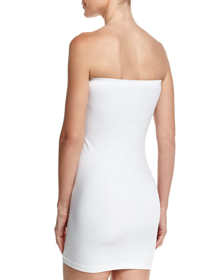 Essential Bandeau Strapless Mini Dress