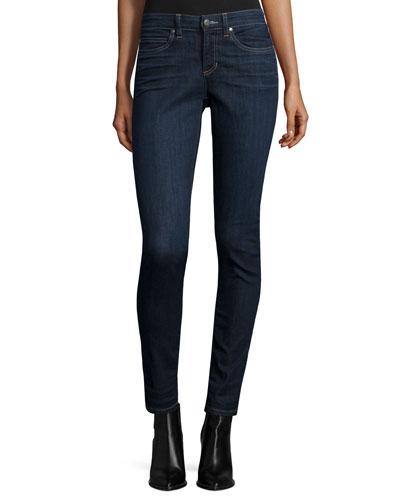 Eileen Fisher Organic Soft Stretch Skinny Jeans, Deep