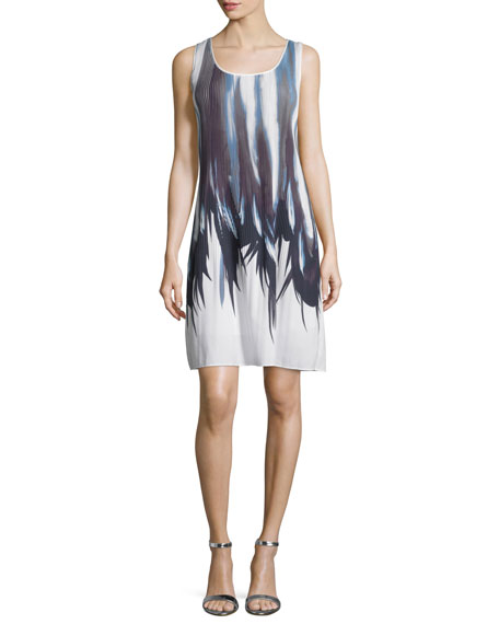 Lafayette 148 New York Raewyn Printed Shift Dress,