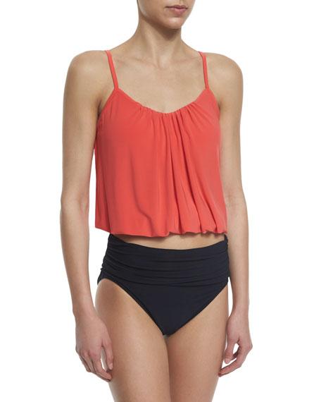 Magicsuit High-Waist Shirred Swim Bottom
