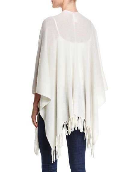 Cashmere Shawl with Fringe