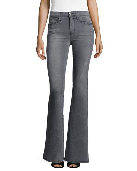 Current/Elliott The Girl Crush Flare-Leg Jeans, Dazzler