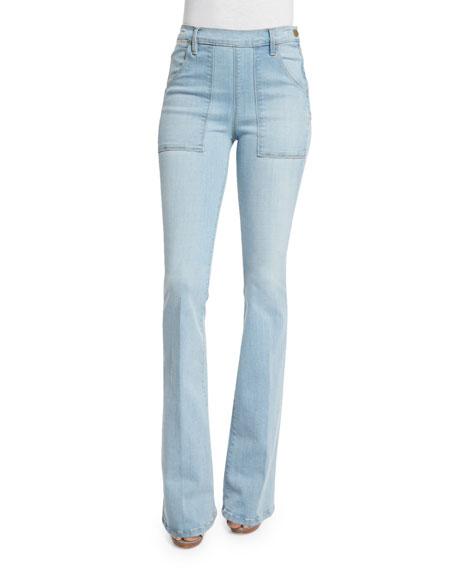 FRAME DENIM Karlie Forever Flare de Francoise Jeans,