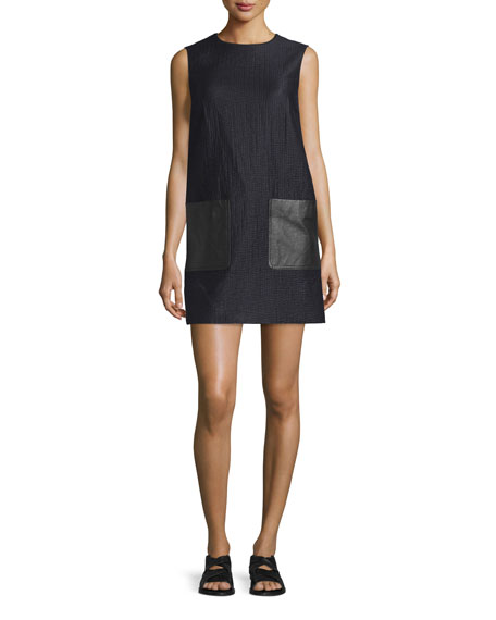 Rag & Bone Decoy Sleeveless Jacquard Shift Dress,