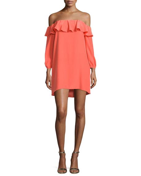 Joanna Off-The-Shoulder Mini Dress