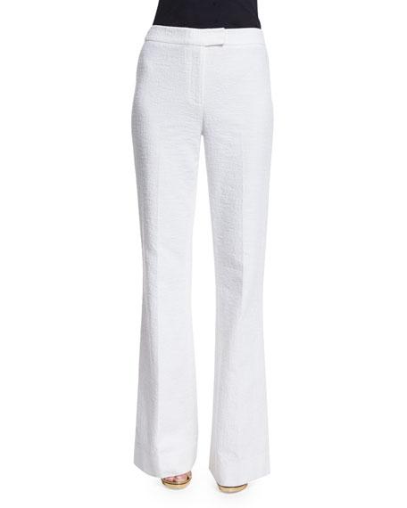Diane von Furstenberg Nicola Wide-Leg Pants, White