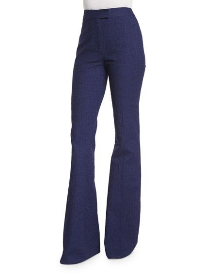 Diane von Furstenberg Nicola Wide-Leg Pants, Midnight