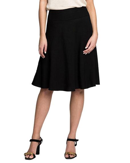 NIC+ZOE Summer Fling Linen-Blend Skirt