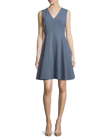 Theory Kalsington Cl. Continuous A-Line Dress