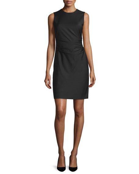 TheoryJorianna W. Continuous Sheath Dress, Black