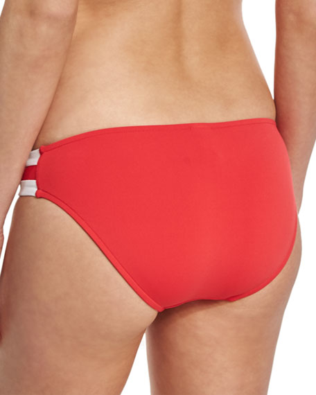 Block Party Spliced Hipster Swim Bikini Bottom
