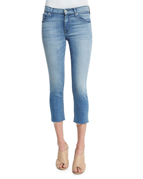 Hudson Fallon Skinny Cropped Jeans, Altair