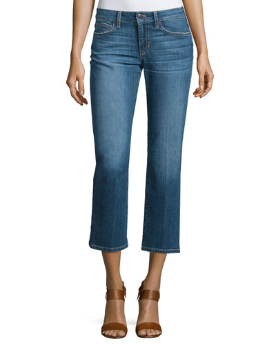 The Olivia Cropped Flare-Leg Jeans, Missie