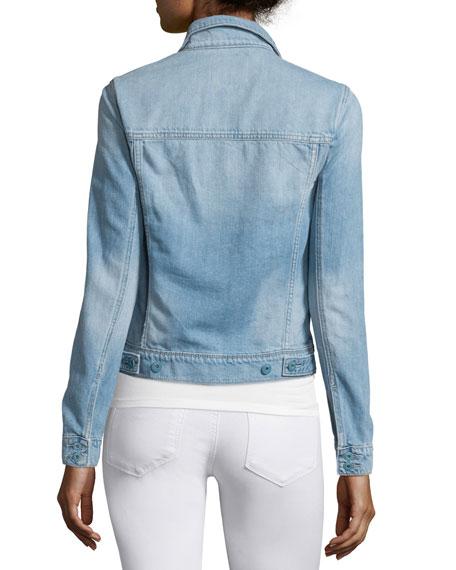 Rowan Button-Front Denim Jacket, Calloway