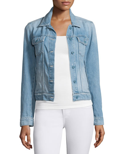 Rowan Button-Front Denim Jacket, Calloway Reviews