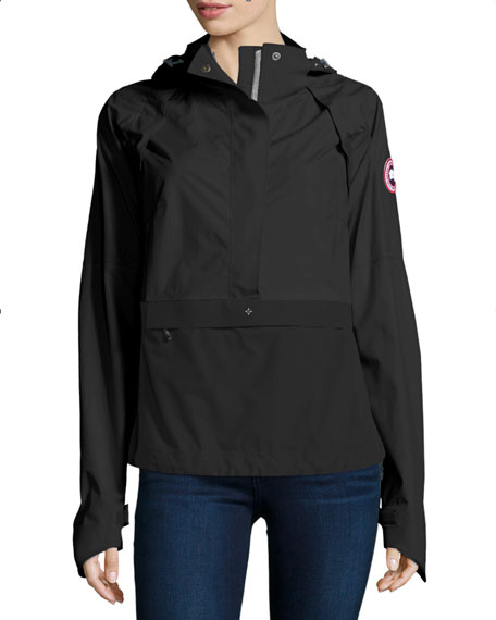 Canada Goose Brunswick Hooded Colorblock Anorak Jacket,