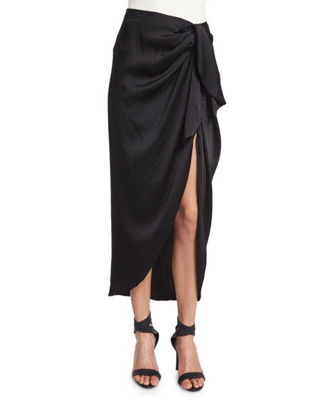 Black Silk Skirt | Neiman Marcus