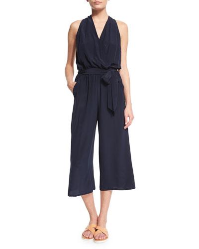 Campania Silk Jumpsuit