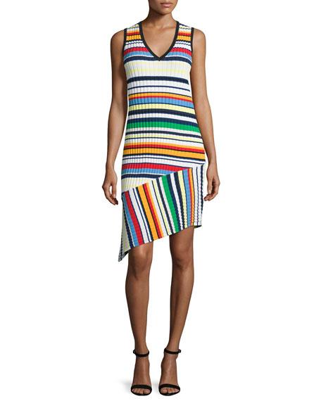 Milly Directional Pop Stripe Dress