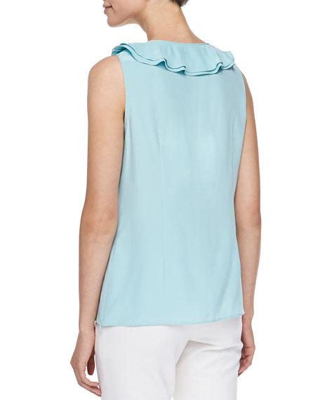 Rianne Ruffled Silk Top