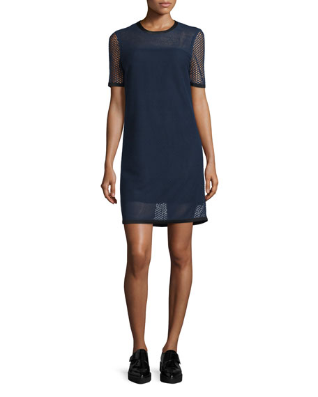 Rag & BoneLuna Mesh Shift Dress, Salute