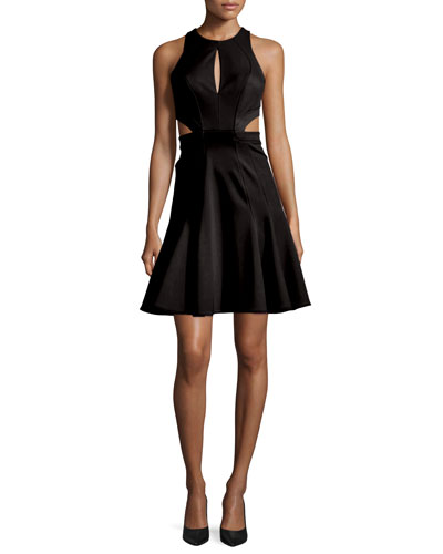 Megan Sleeveless Fit & Flare Dress