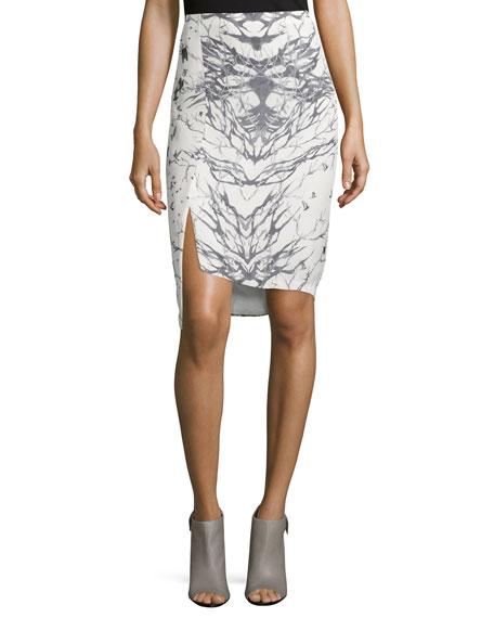Silk Pencil Skirt   Neiman Marcus