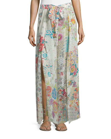 Johnny Was Collection Perro Printed Easy Wide-Leg Pants